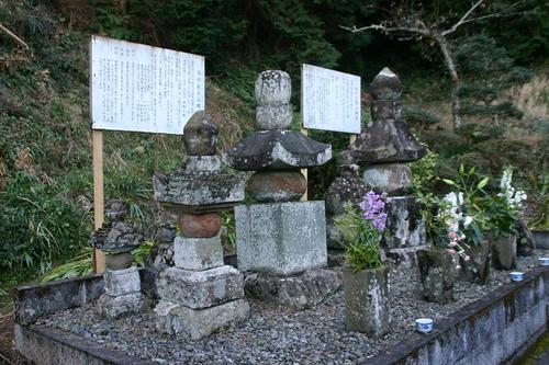 今川家 一代目と二代目の墓
