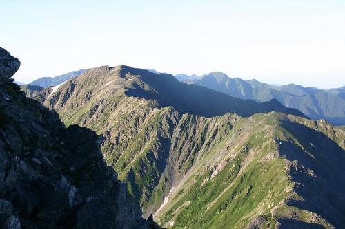 北岳より間の岳