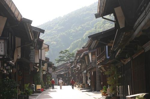 中仙道 奈良井宿