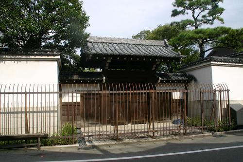 松坂 三井本家の住居跡